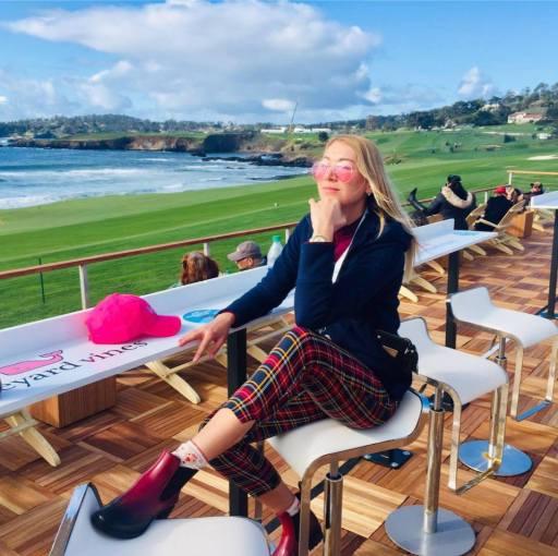 Anna's Pebble Beach Trousers